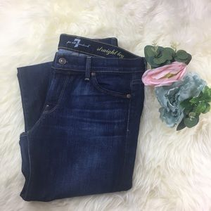 7 Seven For All Mankind Straight Leg Jeans 29